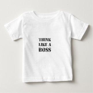 think like A boss T Shirt