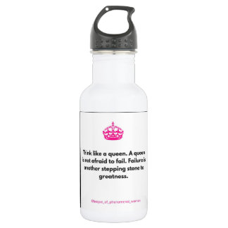 Think like a queen 532 ml water bottle