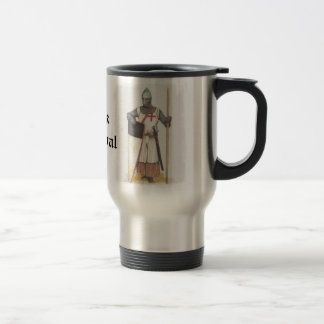Think Medieval Travel Mug