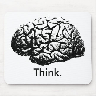 Think. Mouse Pad