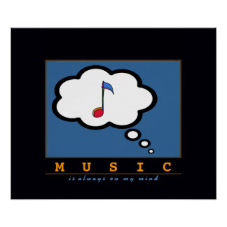 think music poster