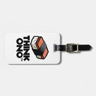 Think Ono #1 Hormel Spam Musubi Snack Luggage Tag