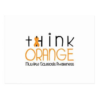 Think Orange - Multiple Sclerosis Awareness Postcard