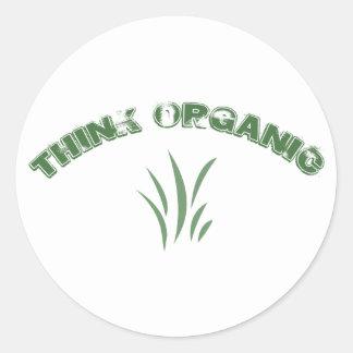 Think Organic Stickers