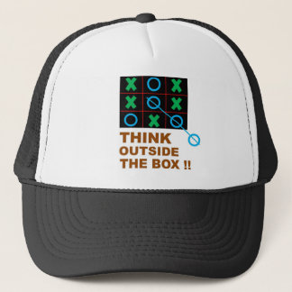 Think Outside Full Trucker Hat