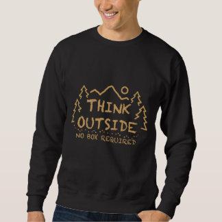 Think Outside, No Box Required Sweatshirt