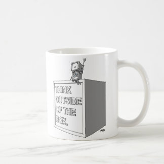 THINK OUTSIDE OF THE BOX MUG 3