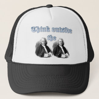 Think Outside the Bachs.jpg Trucker Hat