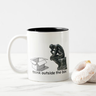 Think Outside The Box - A MisterP Mug