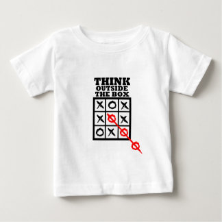Think Outside The Box Baby T-Shirt