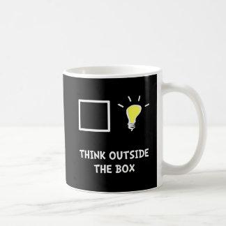 Think Outside The Box Coffee Mug