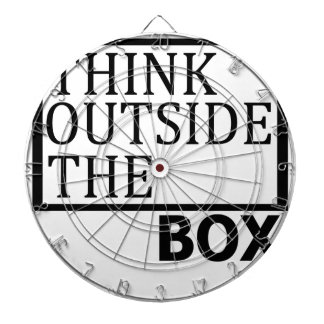 Think Outside The Box Dartboard