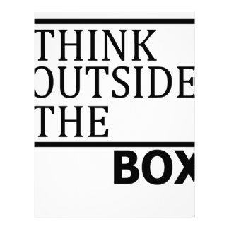 Think Outside The Box Letterhead