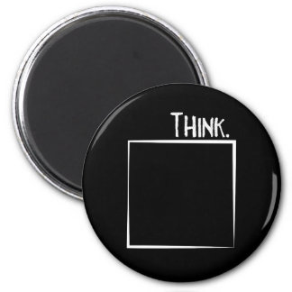 Think Outside The Box Literal Typography Magnet