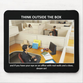 think-outside-the-box mouse pad