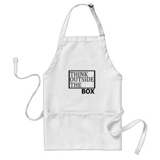 Think Outside The Box Standard Apron