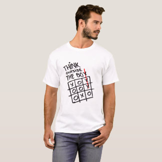 """Think outside the box"" tee shirt"