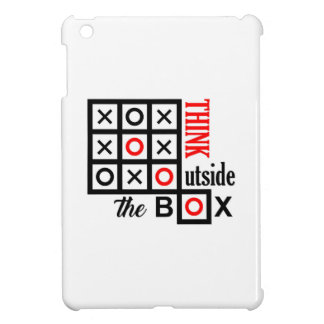 think outside the box tic tac toe extra smart clev iPad mini case