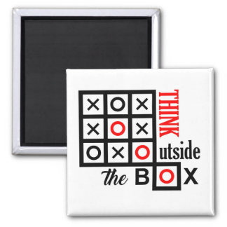 think outside the box tic tac toe extra smart clev magnet