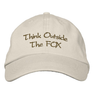 Think Outside The FOX Embroidered Hat