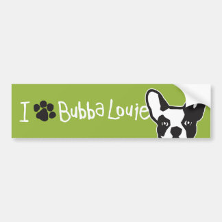 Think Pawsitive Bubba Bumper Sticker