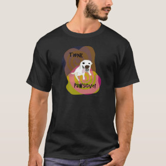 Think Pawsitive! Dog Paw of Attraction T-Shirt