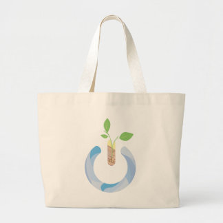 Think Power Large Tote Bag