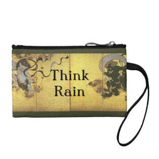 Think Rain Japanese Rain Gods Coin Purses