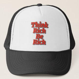 Think Rich Trucker Hat