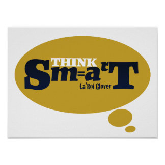 Think Smart Poster