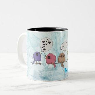 *Think Spring Collectors Coffee Mug* Two-Tone Coffee Mug