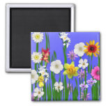 Think Spring Square Magnet