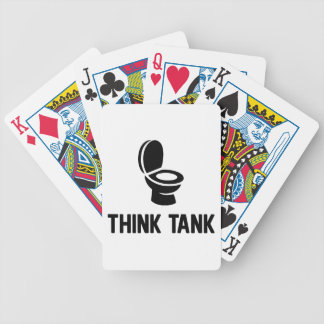 Think Tank Bicycle Playing Cards