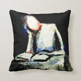 """""""THINK""""  Throw Pillow With Art by Jack Larson"""