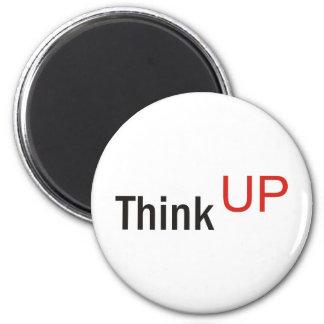 think up alexander technique slogan 2 inch round magnet