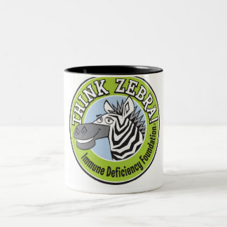 THINK ZEBRA LARGE COFFEE MUG