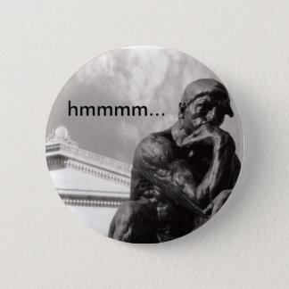 Thinker 2 Inch Round Button
