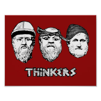 Thinkers poster