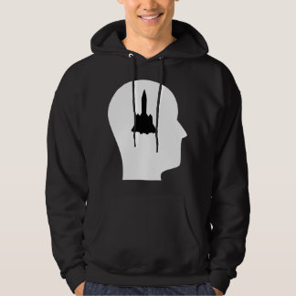 Thinking About Aerospace Engineering Hoodie