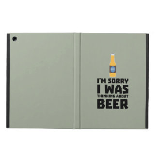 Thinking about Beer bottle Z860x Case For iPad Air