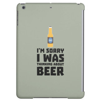 Thinking about Beer bottle Z860x Cover For iPad Air