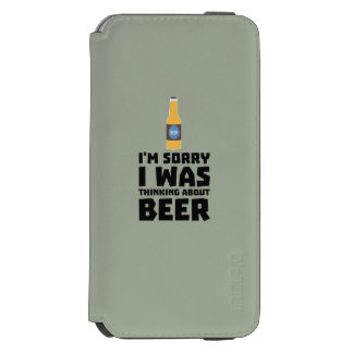 Thinking about Beer bottle Z860x Incipio Watson™ iPhone 6 Wallet Case