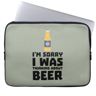 Thinking about Beer bottle Z860x Laptop Sleeve