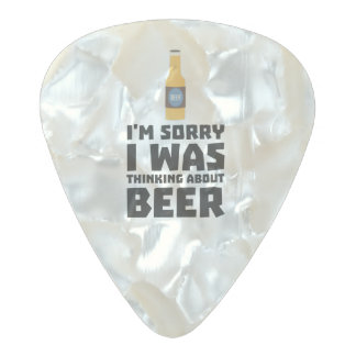 Thinking about Beer bottle Z860x Pearl Celluloid Guitar Pick