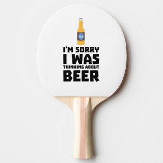 Thinking about Beer bottle Z860x Ping Pong Paddle