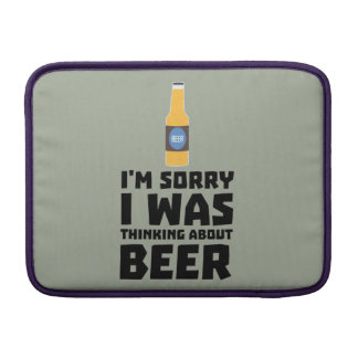 Thinking about Beer bottle Z860x Sleeve For MacBook Air