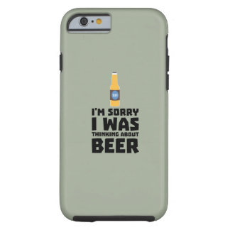Thinking about Beer bottle Z860x Tough iPhone 6 Case