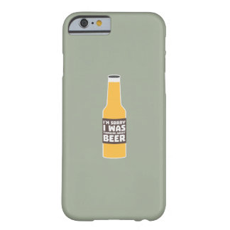 Thinking about Beer bottle Zjz0m Barely There iPhone 6 Case