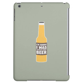 Thinking about Beer bottle Zjz0m iPad Air Case
