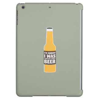Thinking about Beer bottle Zjz0m iPad Air Cover